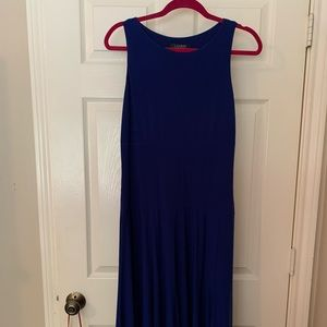 Ralph Lauren blue dress size 10